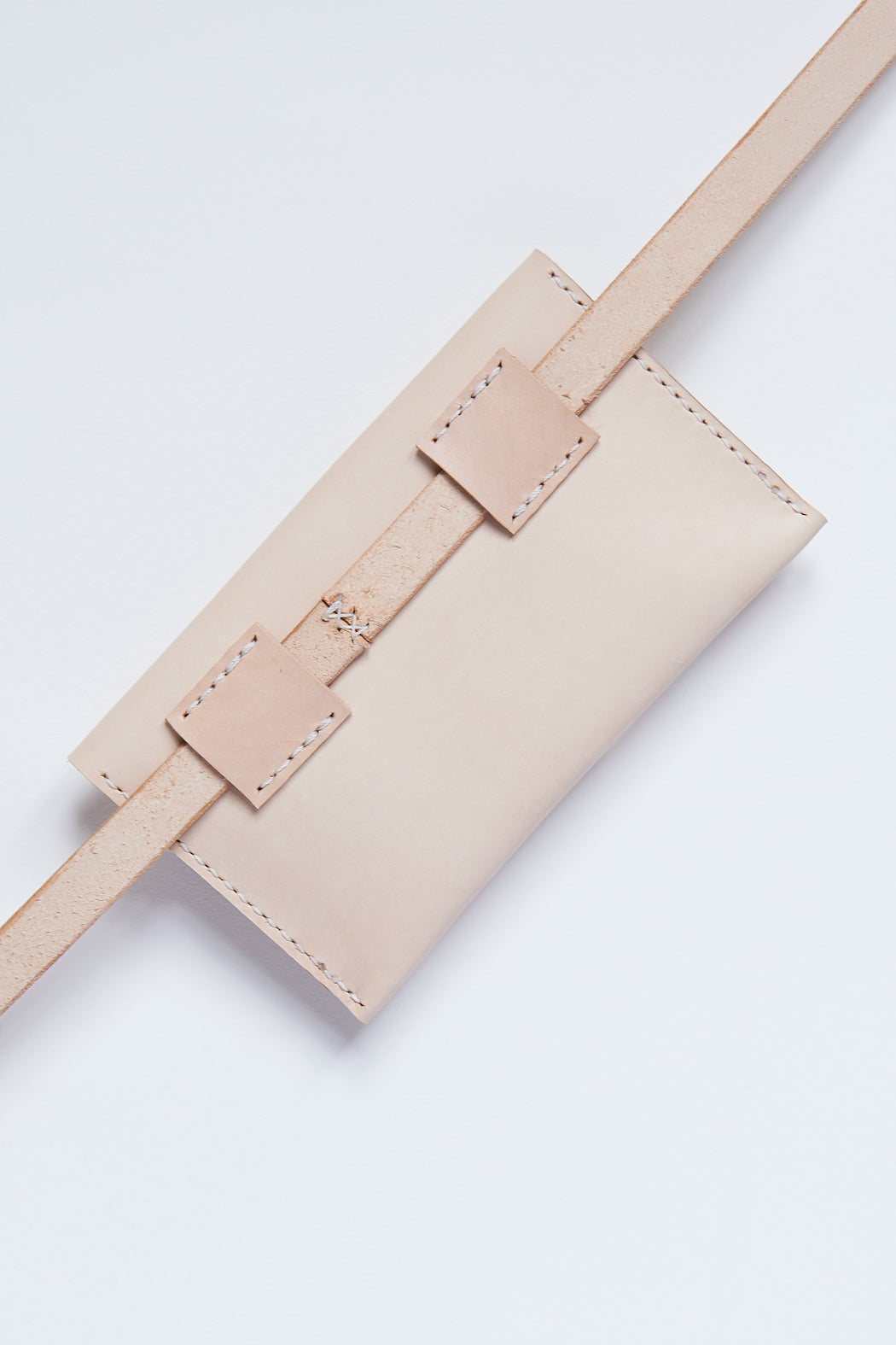 PM Leather Waist Pocket - Natural