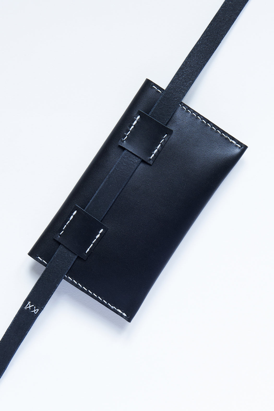 PM Leather Waist Pocket - Black