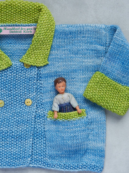 Aunt Debbie's Hand-Knit Baby Sweater -  (1 - 2 years)