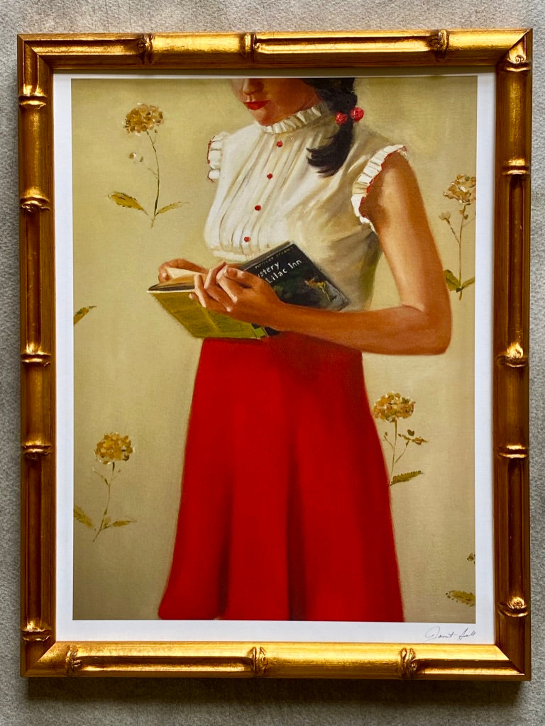 """A Mystery Lady"" by Janet Hill"