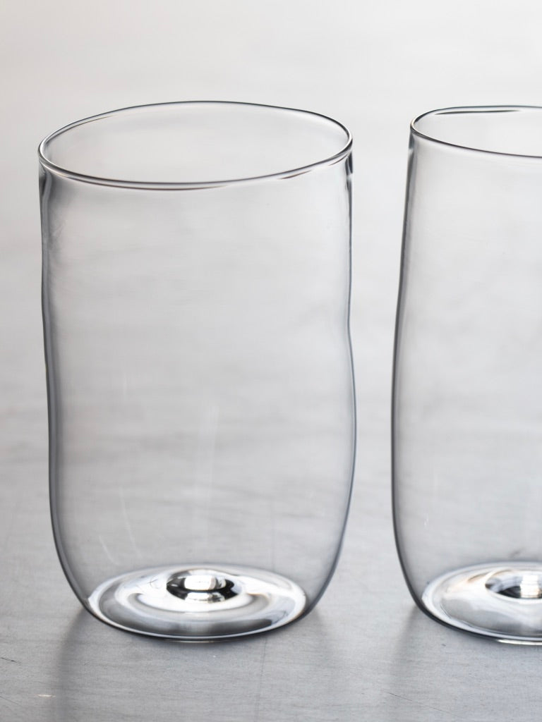 Malfatti Glassware Hand-Blown Beer Glasses