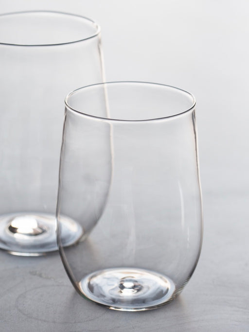 Malfatti Glassware Hand-Blown White Wine Glasses