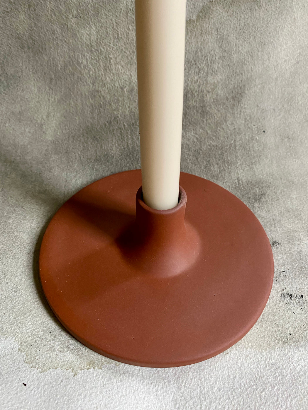 Extra-Tall Hand-Dipped Candles - Parchment