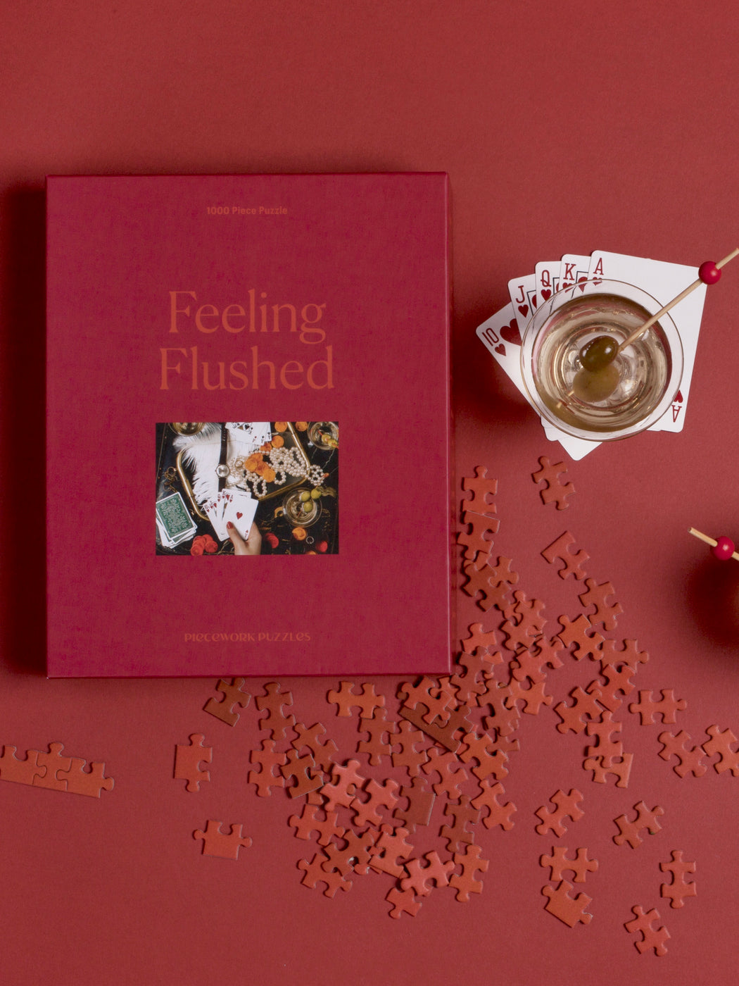 """Feeling Flushed"" Jigsaw Puzzle"
