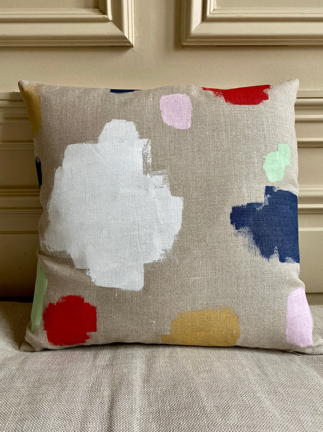 """Painterly"" Pillow"