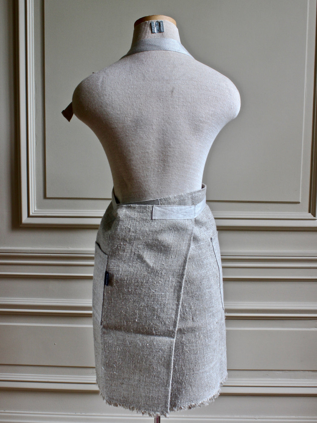 Swedish Linen Apron - Short