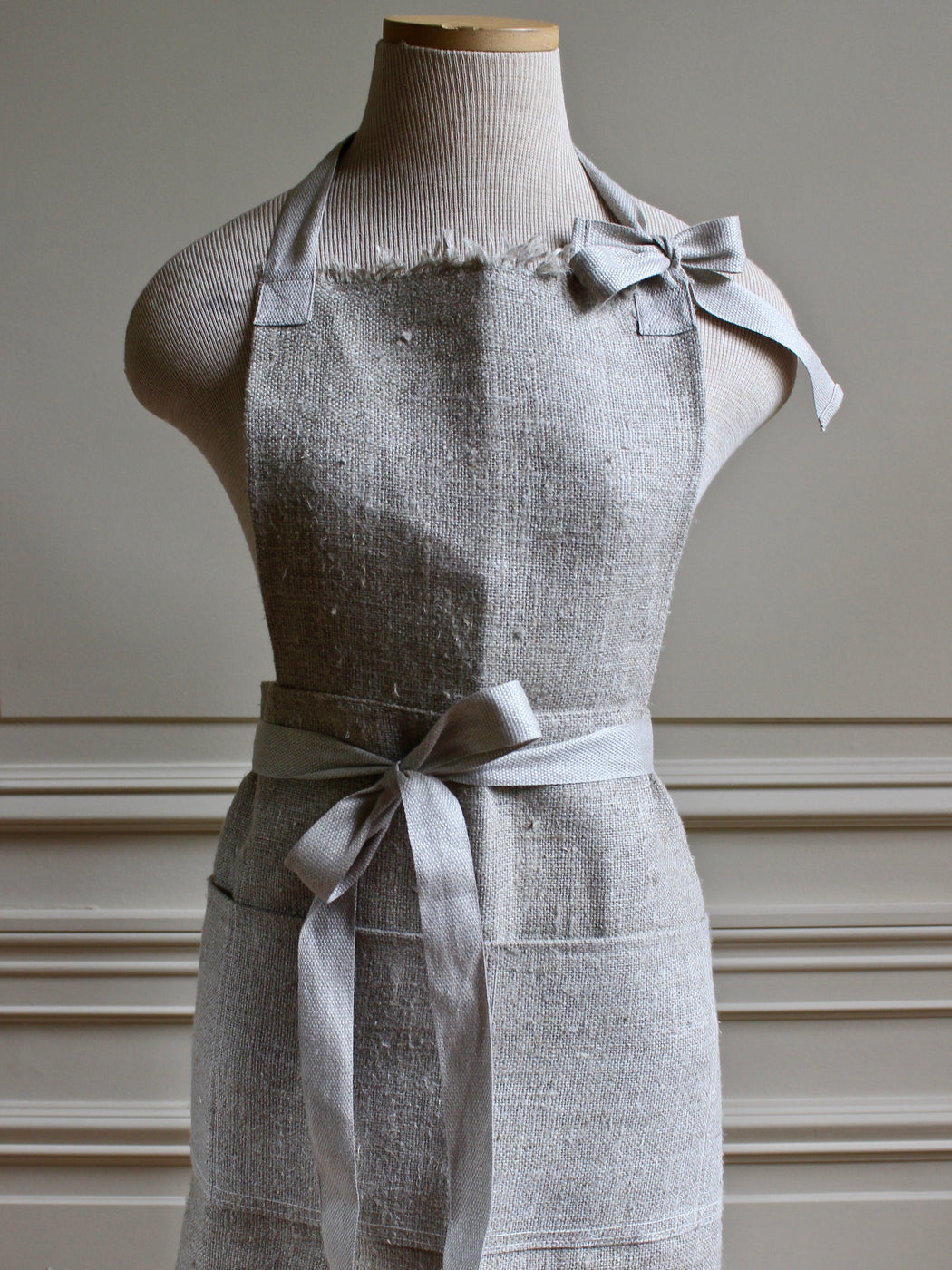 Swedish Linen Apron - Long