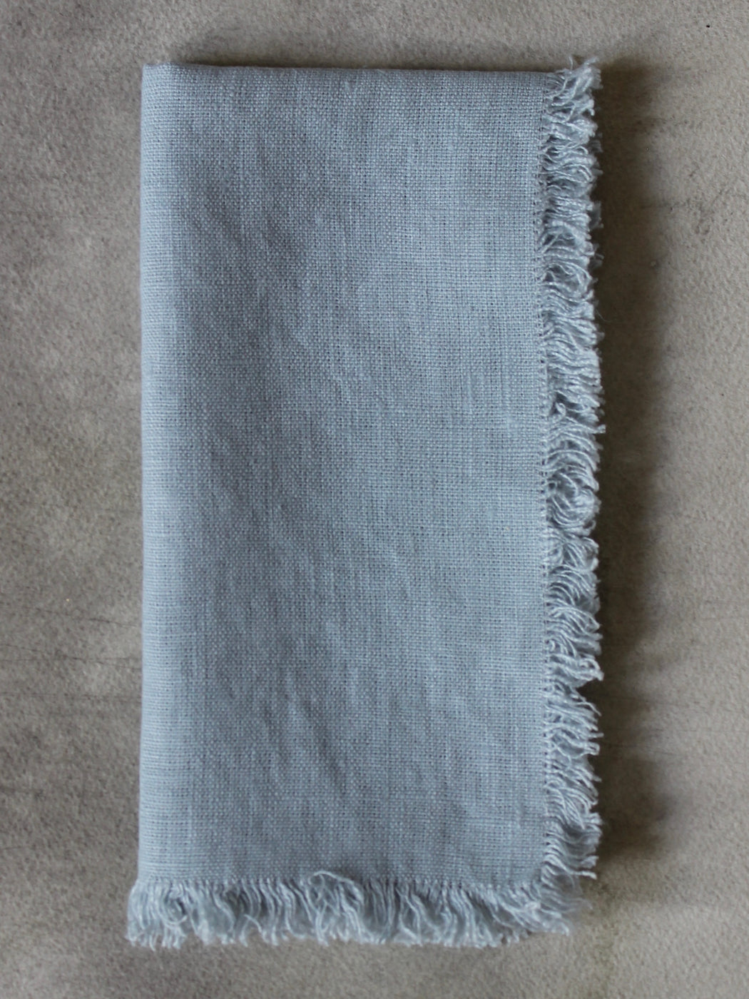Swedish Linen Napkins - Pale Blue