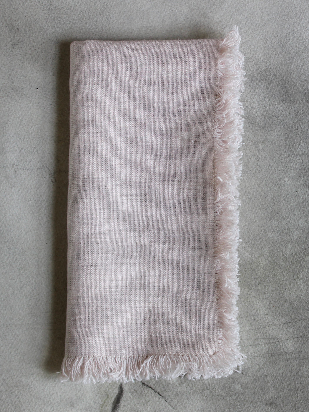 Swedish Linen Napkins - Pale Pink