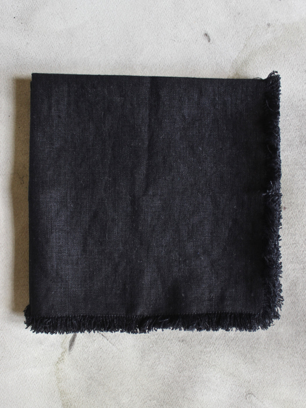 Swedish Linen Napkins - Black