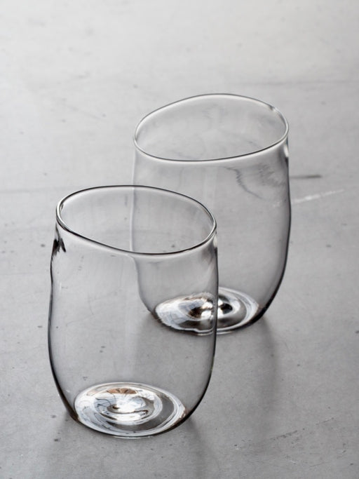 Malfatti Glassware Hand-Blown Whiskey Glasses