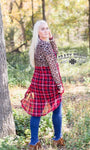 Pine Ridge Plaid Cardigan