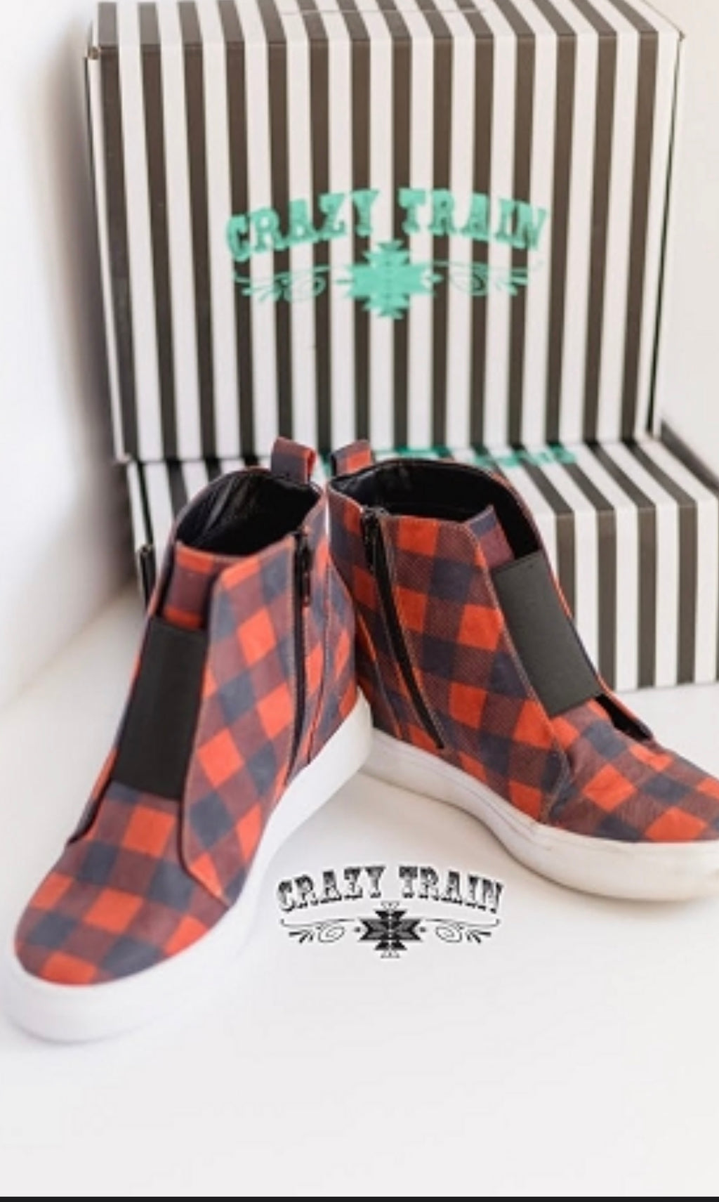 Buffalo Plaid Sneaker