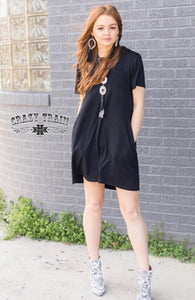 Mavrick Black Dress