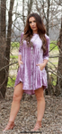 Lavender Velvet Dress
