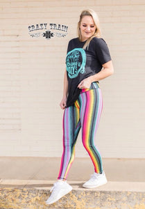 Yellowstone Serape Leggings