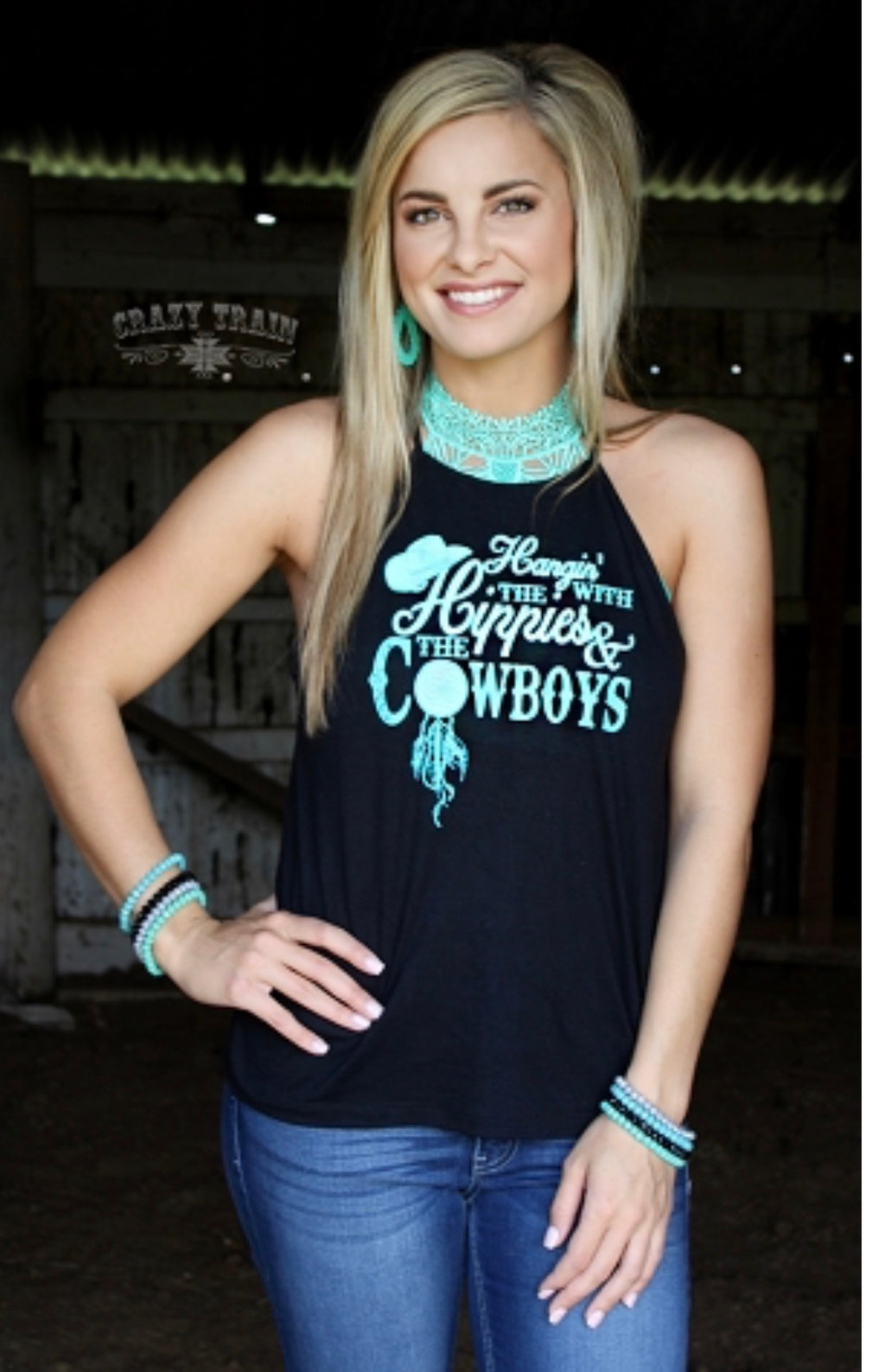 Hippies & Cowboys Tank