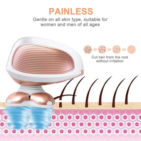 Painless Electric Razor For Women