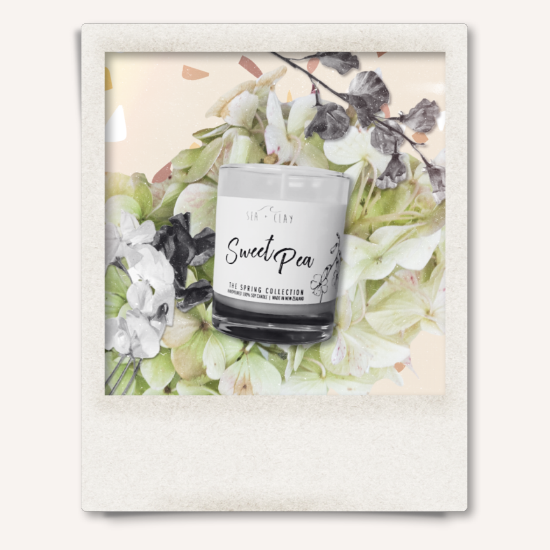 Sweet Pea Candle // SPRING COLLECTION