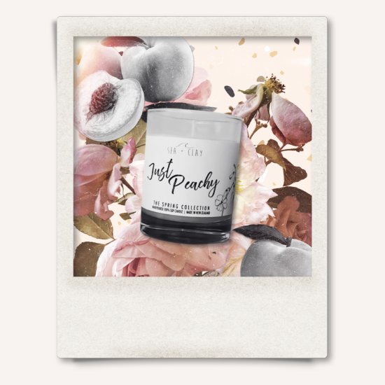 Just Peachy Candle // SPRING COLLECTION