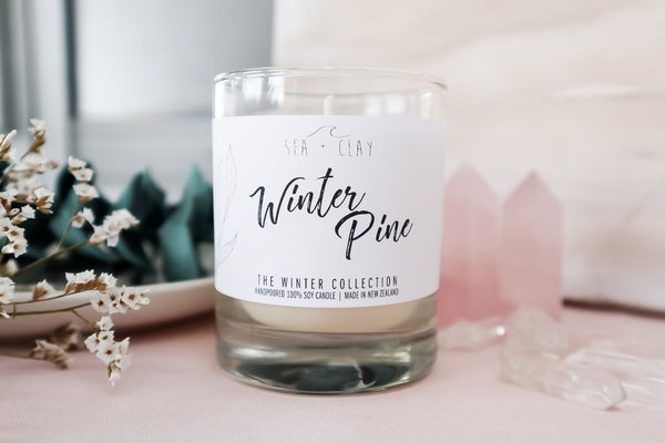 Winter Pine Candle // WINTER COLLECTION