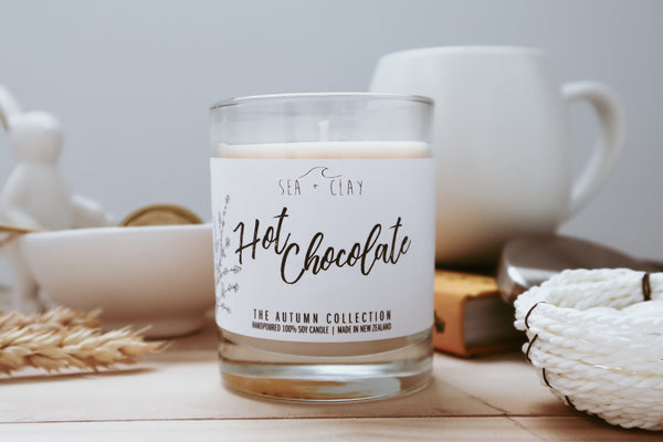 Hot Chocolate Candle // AUTUMN COLLECTION