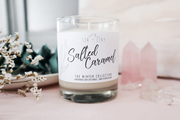 Salted Caramel Candle // WINTER COLLECTION