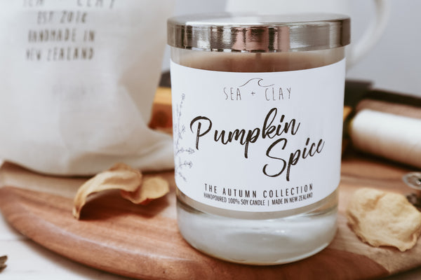 Pumpkin Spice Candle // AUTUMN COLLECTION