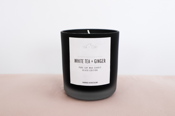 White Tea + Ginger Candle