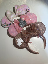 Load image into Gallery viewer, Sequin Ears Extras Add On- Handmade Mouse Ears Headband