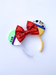 Ears Ever After, Disney Ears, Minnie Mouse Ears, Mickey Ears, Custom Mickey Ears, Mouse Ears, UK Disney Ears, Minnie Ears, Mickey Ears, Disney, Toystory Ears, Buzz and Woody Ears, Toystory Land, Pixar Ears