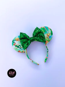 Ears Ever After, Disney Ears, Minnie Mouse Ears, Mickey Ears, Custom Mickey Ears, Mouse Ears, UK Disney Ears, Minnie Ears, Mickey Ears, Disney, Peter Pan Ears, Peter Pan Disney Ears, Tinkerbell Ears