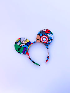 Super Hero Ears - Handmade Mouse Ears Headband