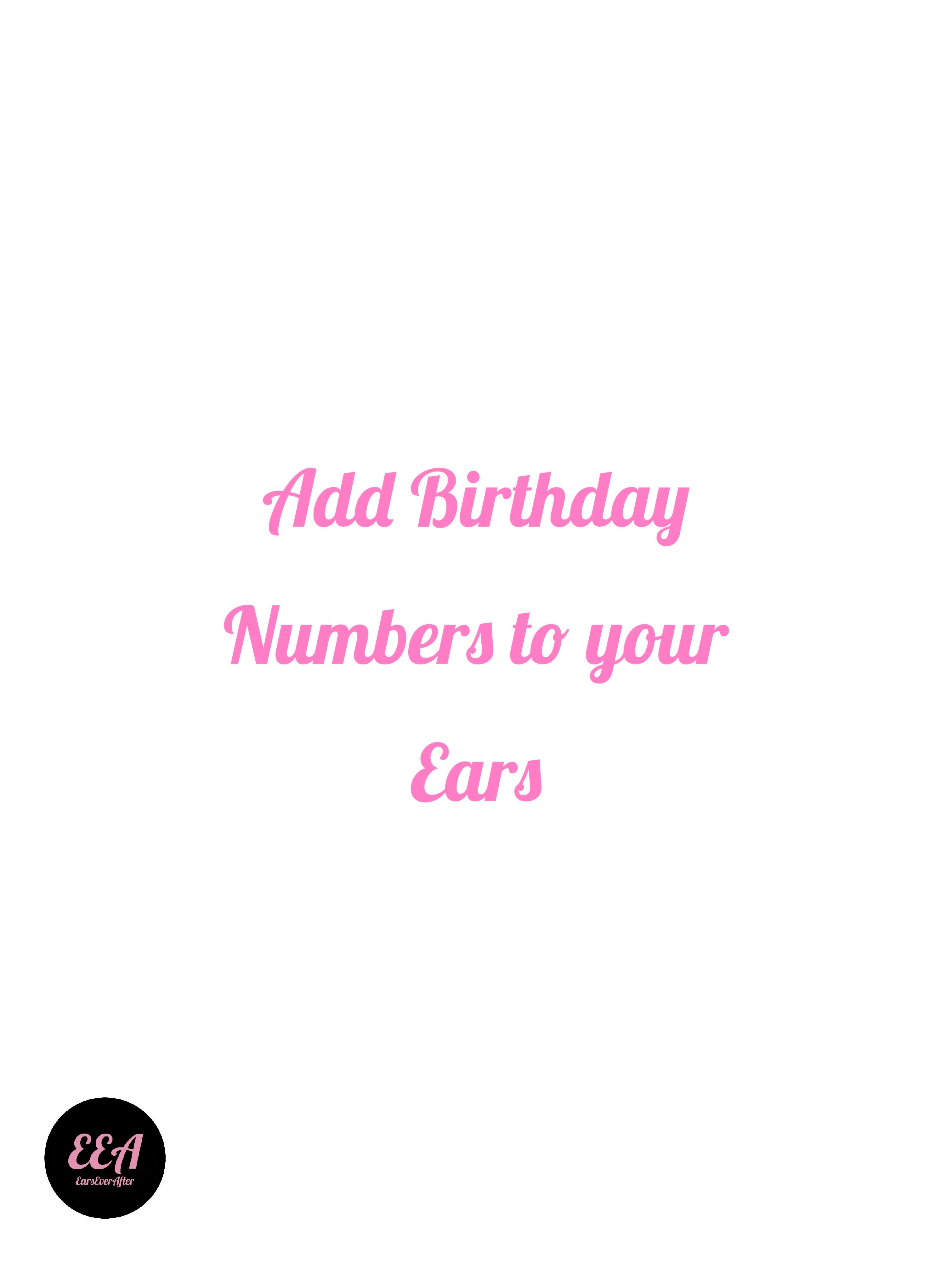 Add Birthday Numbers