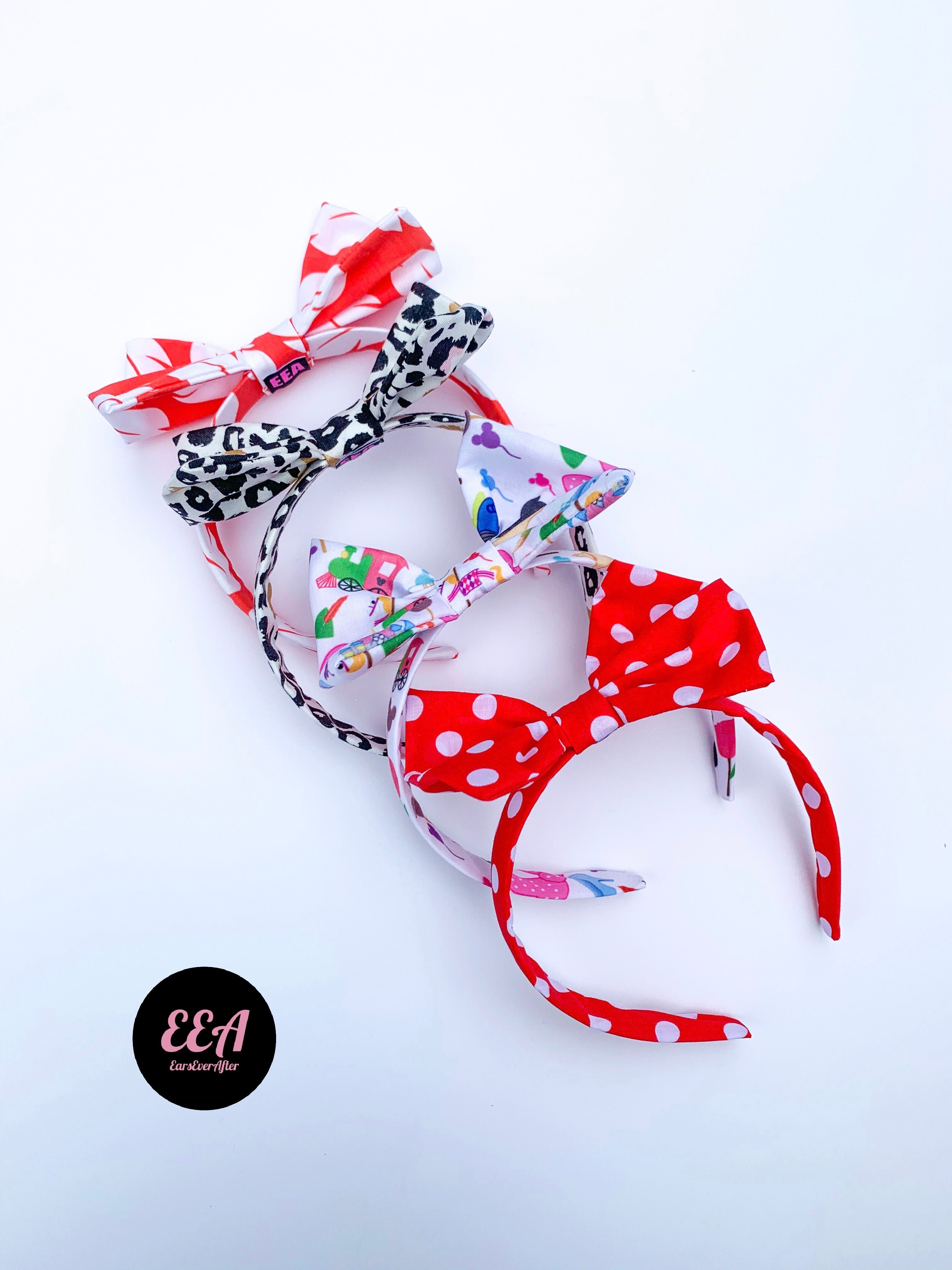 Mouse Bow Headband