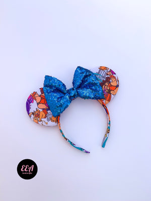 Ears Ever After, Disney Ears, Minnie Mouse Ears, Mickey Ears, Custom Mickey Ears, Mouse Ears, UK Disney Ears, Minnie Ears, Mickey Ears, Disney, Hercules Ears, Hercules, Meg Ears