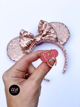 Load image into Gallery viewer, Ears Ever After, Disney Ears, Minnie Mouse Ears, Mickey Ears, Custom Mickey Ears, Mouse Ears, UK Disney Ears, Minnie Ears, Mickey Ears, Disney, Disney Pins, Rose Gold Pins, Disney Rose Gold Ears