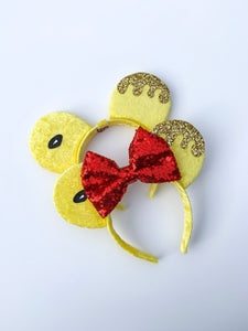 Hunny Bear Ears - Handmade Mouse Ears Headband