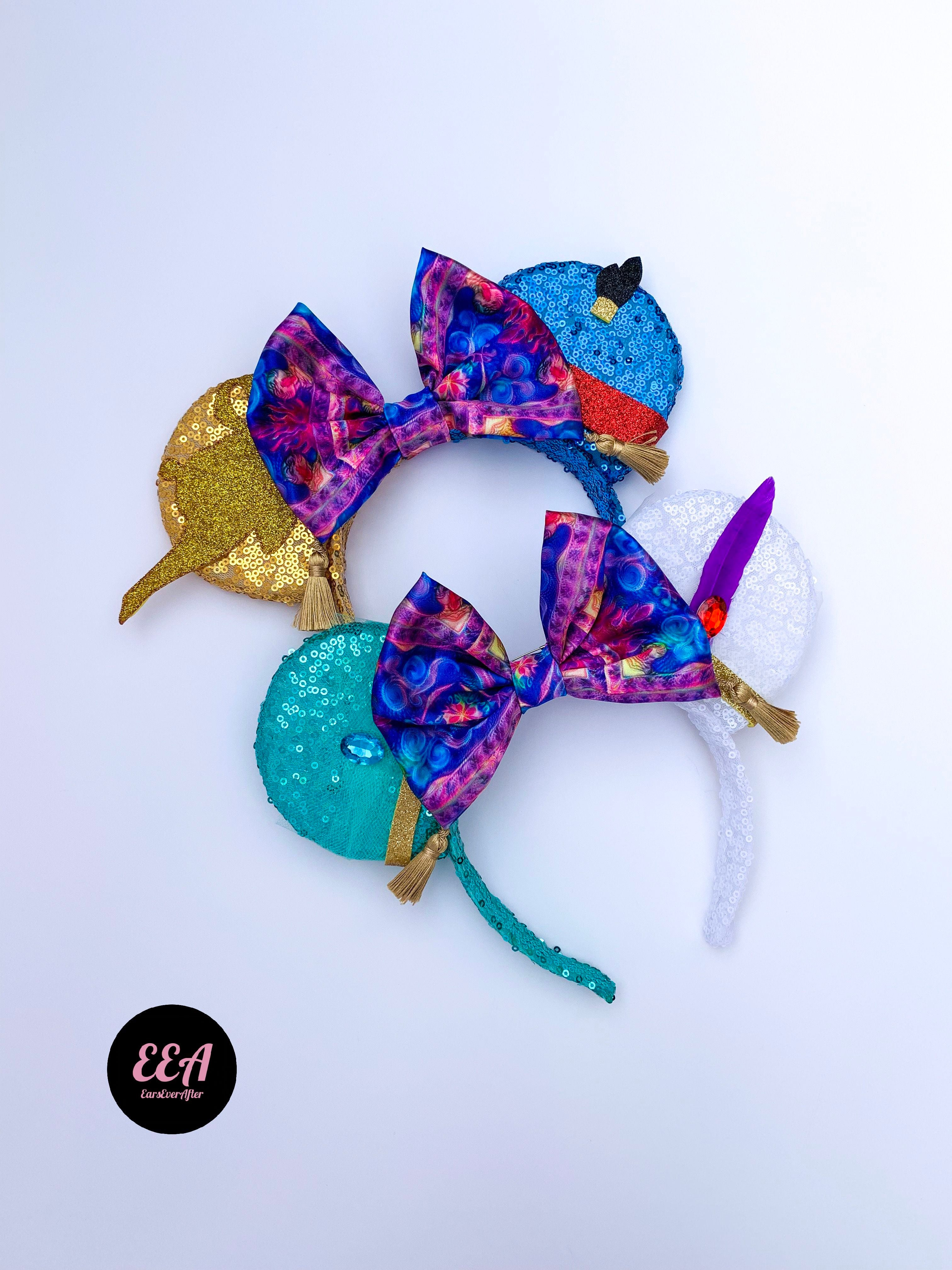 Ears Ever After, Disney Ears, Minnie Mouse Ears, Mickey Ears, Custom Mickey Ears, Mouse Ears, UK Disney Ears, Minnie Ears, Mickey Ears, Aladdin Ears, Cave of Wonders, Jasmine Ears, Carpet Ears