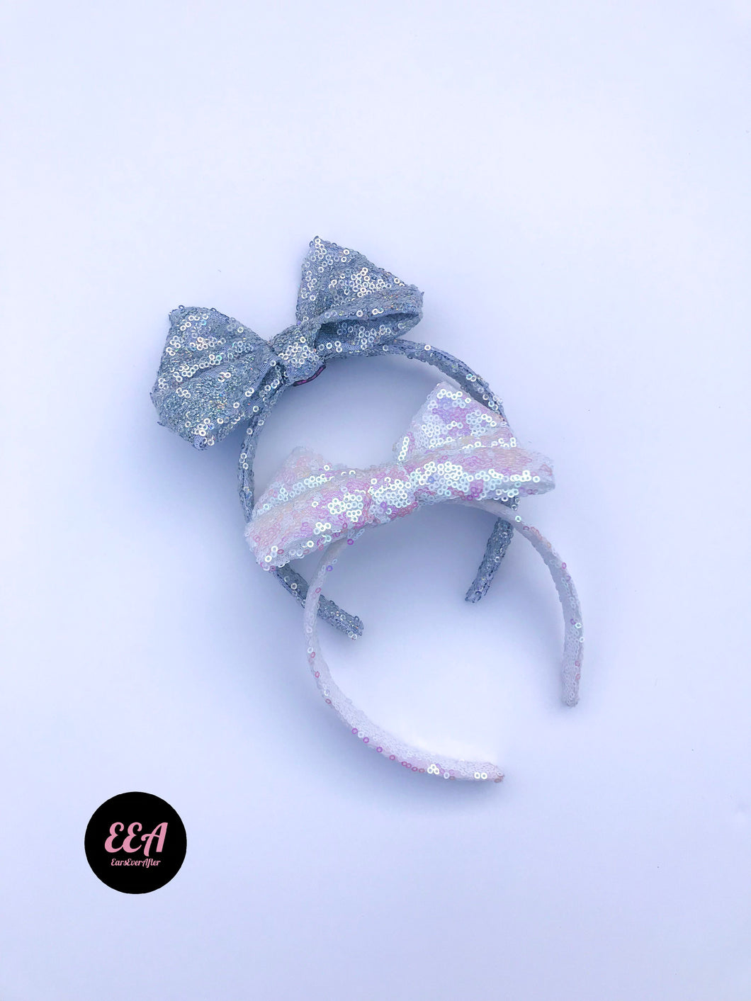 Ears Ever After, Disney Ears, Minnie Mouse Ears, Mickey Ears, Custom Mickey Ears, Mouse Ears, UK Disney Ears, Minnie Ears, Mickey Ears, Disney, Bow Headband, Disney Bow, Sequin Disney Bow, Bow