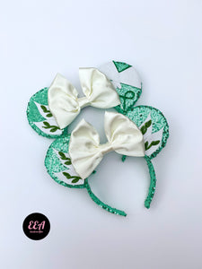 Ears Ever After, Disney Ears, Minnie Mouse Ears, Mickey Ears, Custom Mickey Ears, Mouse Ears, UK Disney Ears, Minnie Ears, Mickey Ears, Disney, Princess Tiana Ears, Tiana and Naveen Ears, Princess Ears