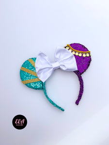 Ears Ever After, Disney Ears, Minnie Mouse Ears, Mickey Ears, Custom Mickey Ears, Mouse Ears, UK Disney Ears, Minnie Ears, Mickey Ears, Disney, Esmeralda Ears, Hunchback of Notre Dame Ears