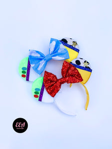 Ears Ever After, Disney Ears, Minnie Mouse Ears, Mickey Ears, Custom Mickey Ears, Mouse Ears, UK Disney Ears, Minnie Ears, Mickey Ears, Disney, Disney Toy Story Ears, Toy Story Ears, Buzz Ears, Woody Ears, Jessie Ears