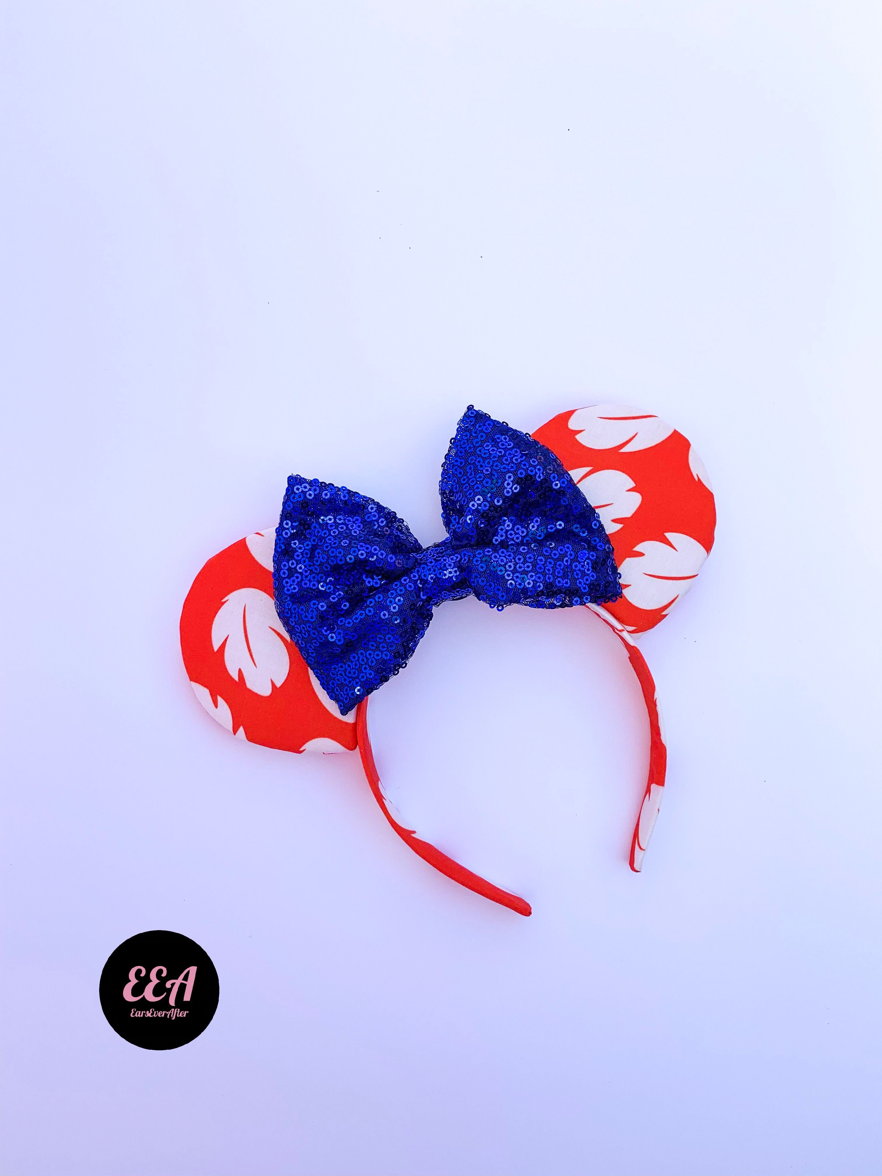 Ears Ever After, Disney Ears, Minnie Mouse Ears, Mickey Ears, Custom Mickey Ears, Mouse Ears, UK Disney Ears, Minnie Ears, Mickey Ears, Disney, Lilo and Stitch, Disney Lilo Ears, Disney Stitch Ears