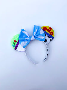 Cowboy Space-Ranger Ears - Handmade Mouse Ears Headband