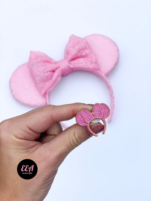 Ears Ever After, Disney Ears, Minnie Mouse Ears, Mickey Ears, Custom Mickey Ears, Mouse Ears, UK Disney Ears, Minnie Ears, Mickey Ears, Disney, Disney Pin, Pink Pin, Disney Ear Pin, Hard Enamel Pin