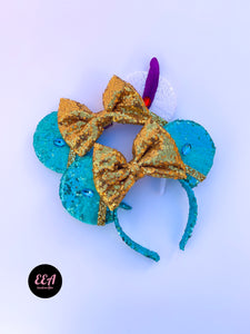 Ears Ever After, Disney Ears, Minnie Mouse Ears, Mickey Ears, Custom Mickey Ears, Mouse Ears, UK Disney Ears, Minnie Ears, Mickey Ears, Disney, Jasmine Ears, Disney Princess Ears, Disney Jasmine Ears