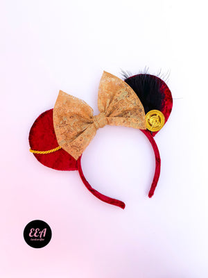 Ears Ever After, Disney Ears, Minnie Mouse Ears, Mickey Ears, Custom Mickey Ears, Mouse Ears, UK Disney Ears, Minnie Ears, Mickey Ears, Disney, Pirate Ears, Pirates of the Carribean