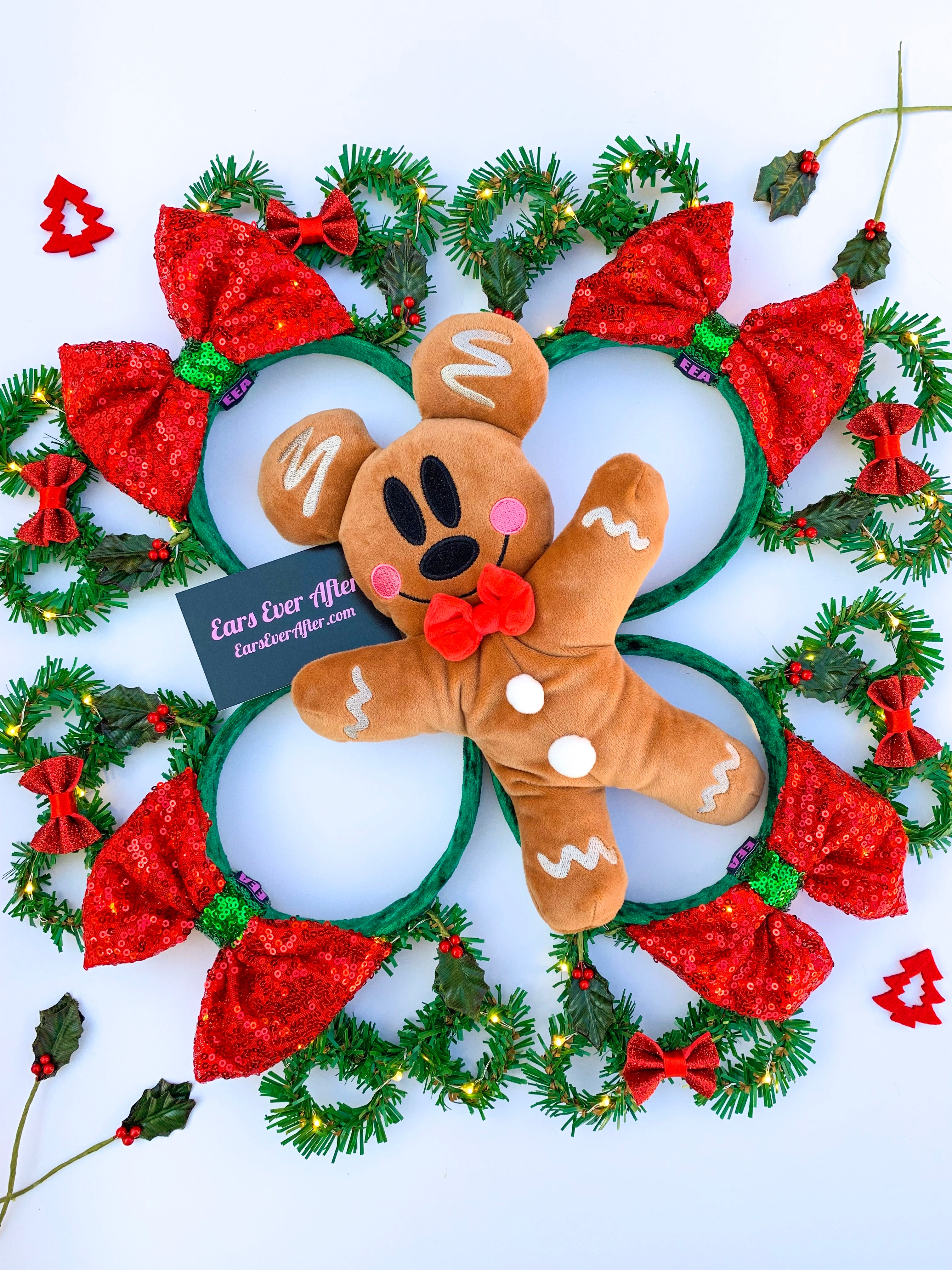 Christmas Wreath Ears