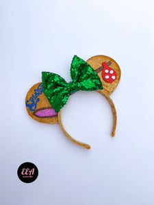 Ears Ever After, Disney Ears, Minnie Mouse Ears, Mickey Ears, Custom Mickey Ears, Mouse Ears, UK Disney Ears, Minnie Ears, Mickey Ears, Disney, Splash Mountain Ears